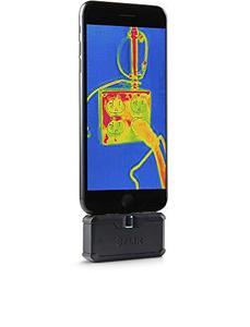 Image 2 - FLIR ONE PRO LT Cámara de imagen térmica, dispositivo de visión nocturna con visión infrarroja, 80x60 píxeles, para iOS o tipo C