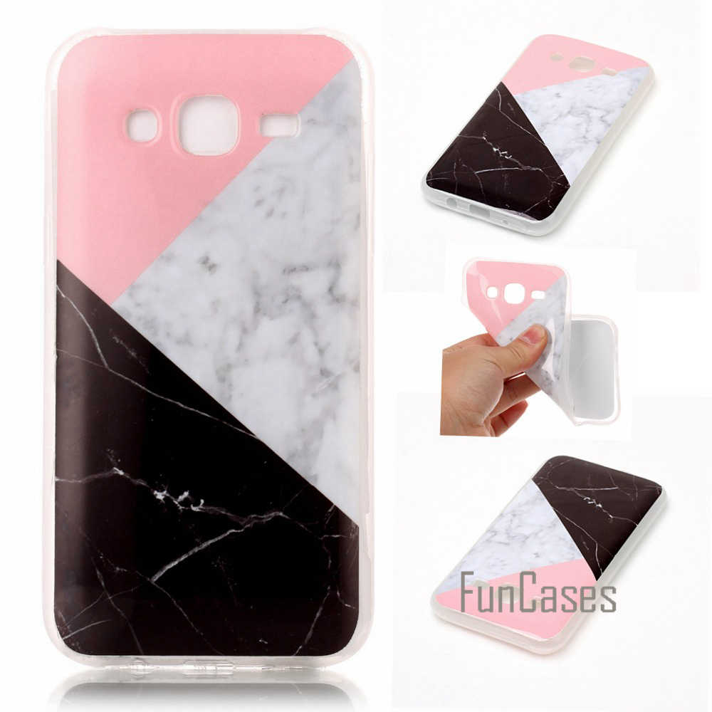 Marble Vein TPU Case For coque Samsung Galaxy J5 2015 Case J5 J500 J500F gaxy Protect svmsung phonea samson case samzung