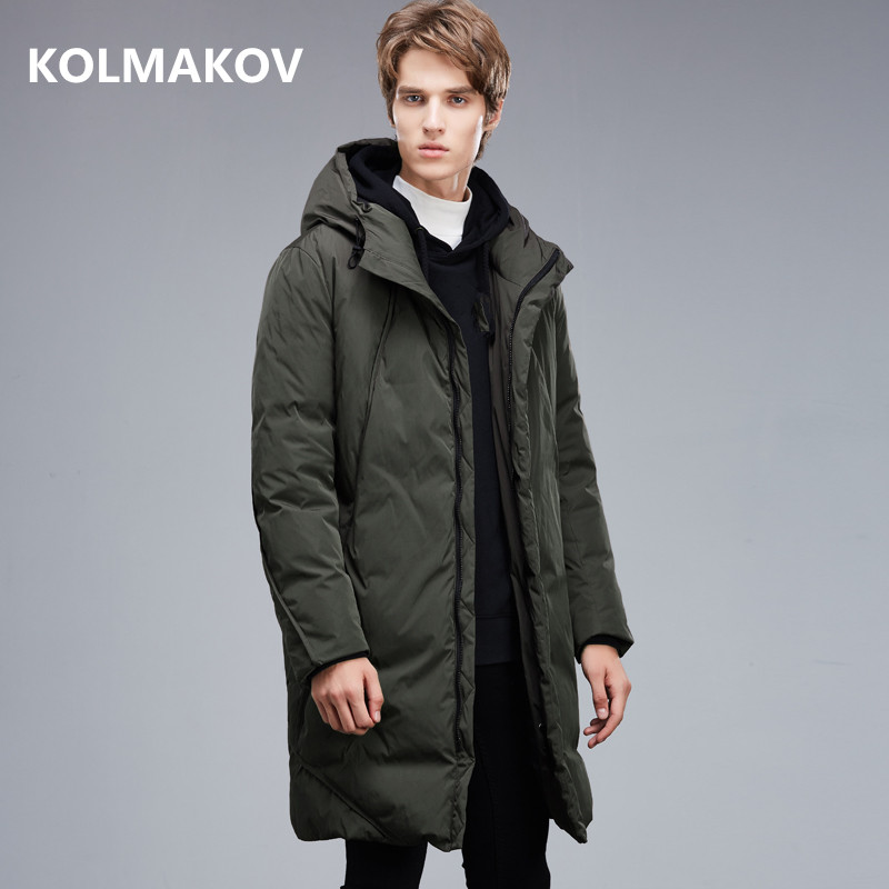 2018 winter coats Mens casual Hooded 90% white Goose down down coats jackets Mens high quality thick Down Jackets men