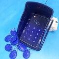O Envio gratuito de controle de acesso rfid controle de acesso ao cartão rfid com Rain Cover teclado de toque de controle de acesso wiegand 26 de entrada