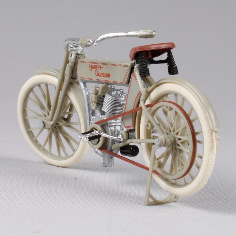 Maisto 1:18 harley oude versie beige motorfiets modelwielen harley - Auto's en voertuigen