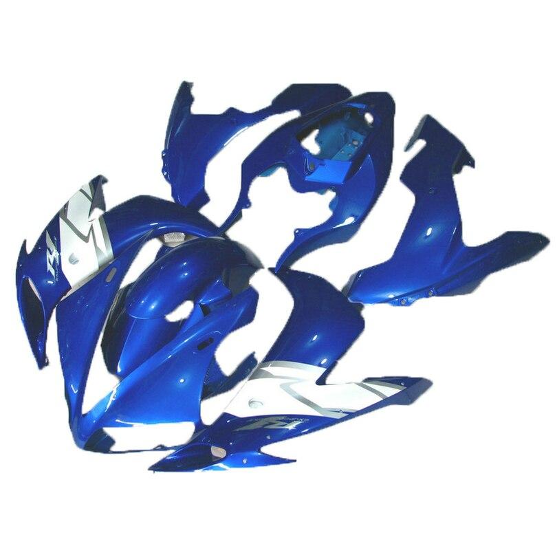 blue special custom fairing kit for  YAMAHA  YZF R1 04 05 06  YZF1000  2005 2004 2006 fairings 7 gifts x93