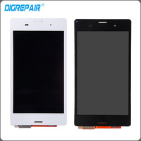 5 White Black For Sony Xperia Z3 D6603 D6653 L55t LCD Display Screen Display Touch Screen