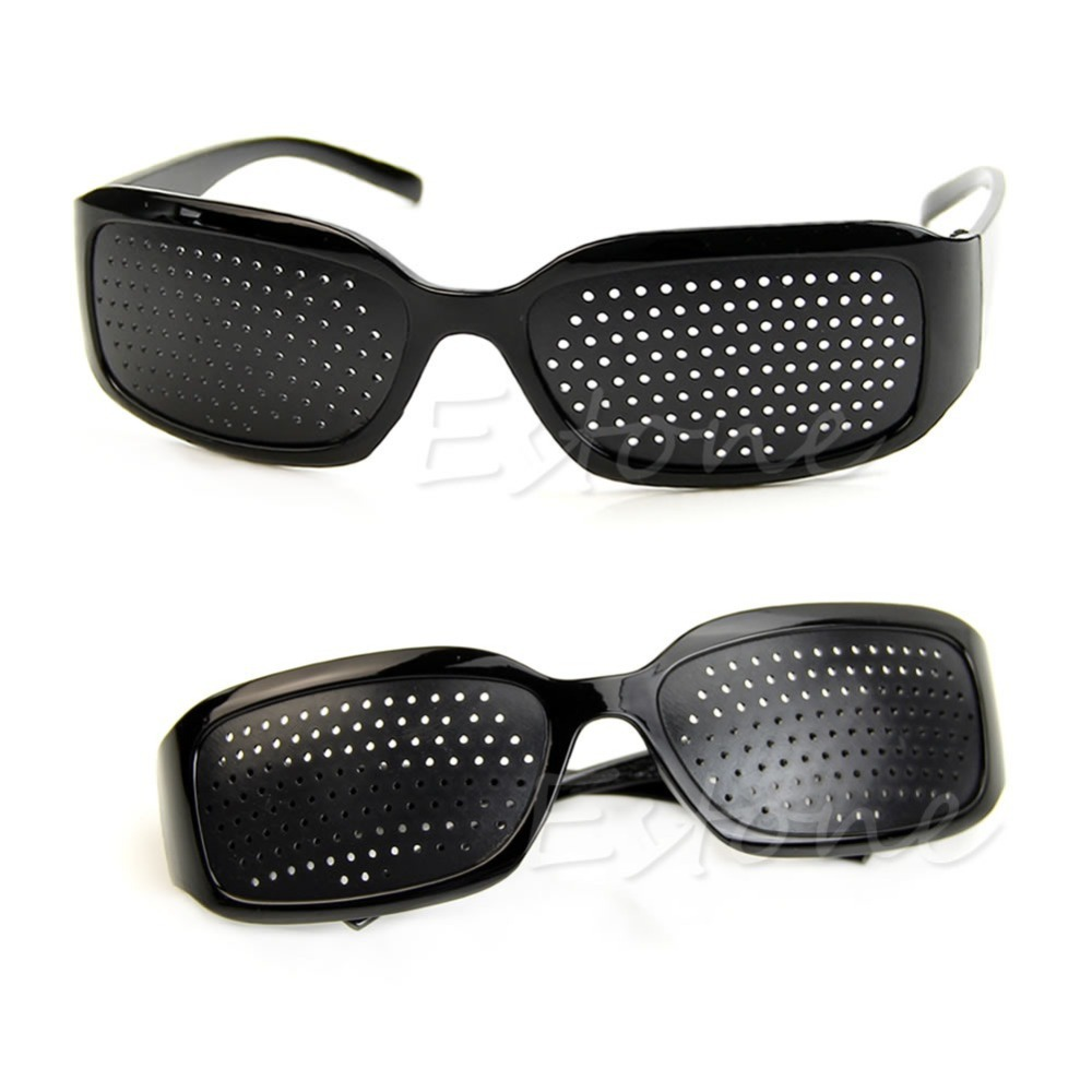 395b8f6fc4  LvDing  Stenopeic Glasses Vision Anti-fatigue Eyesight Care Improver Pin Pinhole  Glasses