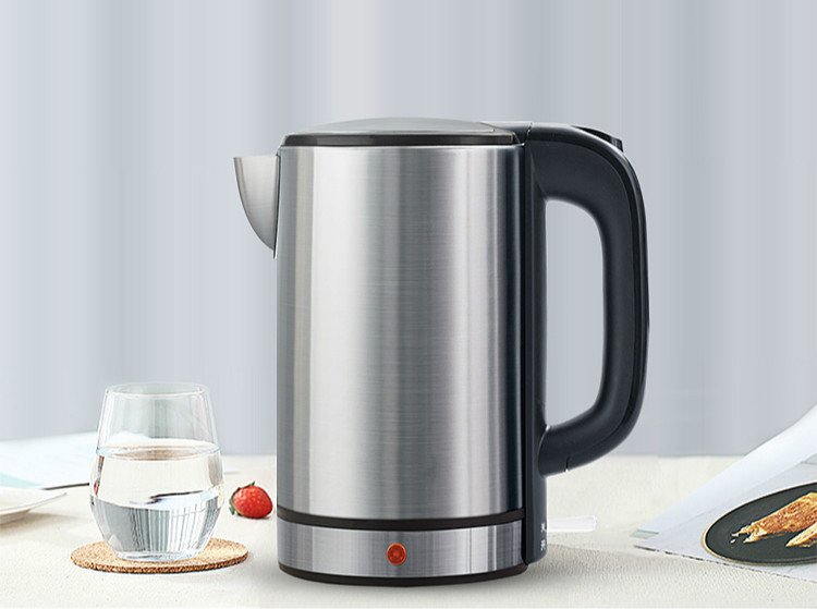 Electric kettle household 304 stainless steel automatic power cut 1.7Electric kettle household 304 stainless steel automatic power cut 1.7