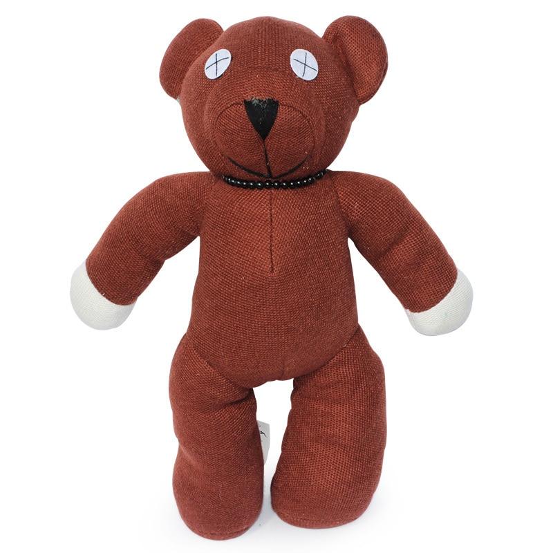 free shipping 22 39 39 55cm big size mr bean teddy bear animal stuffed plush toy brown figure. Black Bedroom Furniture Sets. Home Design Ideas