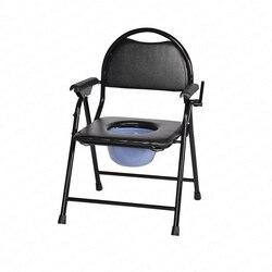 النساء الحوامل تعطيل السن كرسي مرحاض المسنين البراز المرحاض للطي كرسي مرحاض