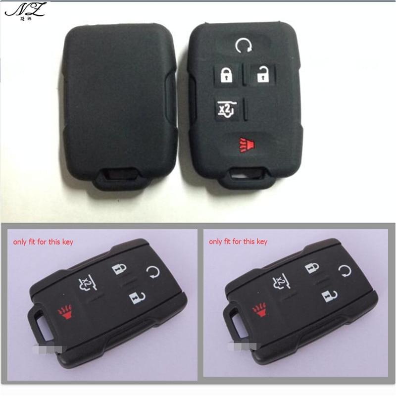5 κουμπιά σιλικόνης καουτσούκ κάλυψη - Αξεσουάρ εσωτερικού αυτοκινήτου - Φωτογραφία 3
