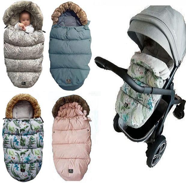 Baby Stroller Sleeping Bag Winter Warm Sleepsacks Robe For Infant Wheelchair Envelopes For Newborns