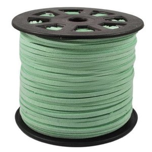 Image 5 - 100 quintal/rolo 4mm/5mm coreano couro falso camurça laço corda corda fio diy pulseira colar descobertas diy miçangas