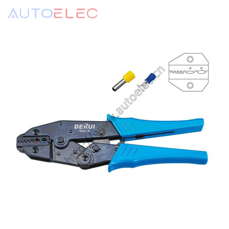 HS-06WF2C wire stripper EUROP STYLE RATCHET crimping pliers Insulated Terminals 0.5-2.5mm2 multi tool tools hands pliers