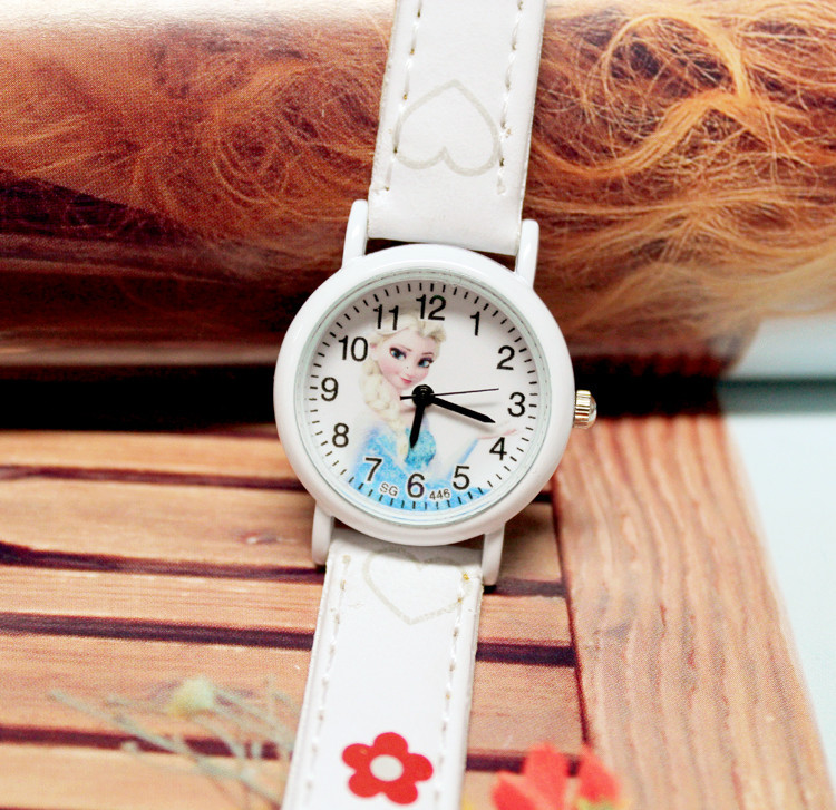 2019 Hot  Hot Style Is Lovely  Cartoon Belt  Children Watch  Aisha And The Sisters  Girl Quartz Wrist Kids Watches