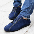 Men Shoes Male Casual Shoes New 2016 Fashion Leather Shoes Loafers Men's shoes Flats zapatillas Suede leather Scarpe da uomo