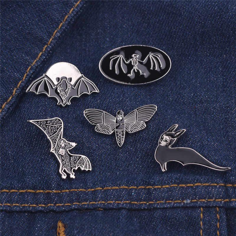 23 Simulazione animale Spilla Gatto Cane Cervo Coniglio Pesce Pipistrello Insetto Spilla Vestiti Della Ragazza del Ragazzo Cappello Libro Spille Spilla Per regalo di compleanno