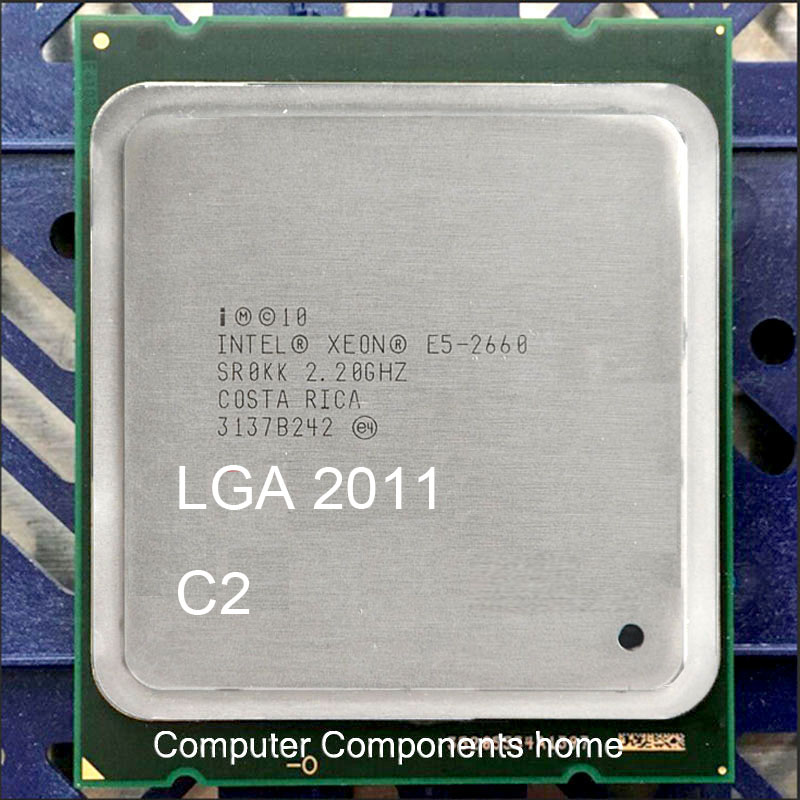 ФОТО Intel Xeon E5-2660 (B360-0653) 2.2GHz (3.0GHz Turbo) 20M 8GT/s SR0KK LGA2011 CPU