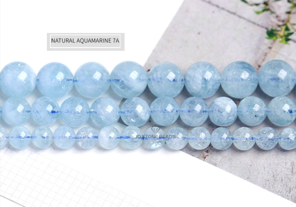 HTB1yqqTXyYrK1Rjy0Fdq6ACvVXav 4 6 8 10 12 mm Natural Aquamarine loose Beads Free Shipping Faceted Blue Pick Szie  DIY Accessory Gemstone For Jewelry Making