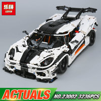 Lepin 23002 3136Pcs Technic Series The MOC 4789 Changing Racing Car Set Children Building Blocks Bricks