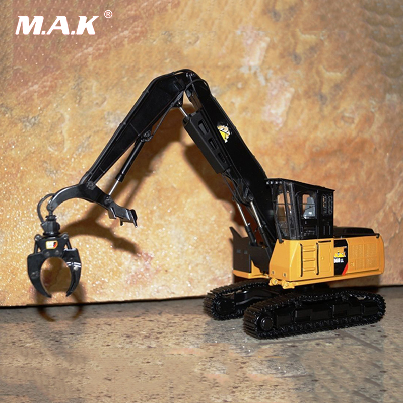 Collection Diecast 1/50 Scale TR40002 - Tonkin Replicas CAT 568 LL Forestry Machine Excavator Truck Car Vehicles Diecast Model collection diecast 1 50 scale m318f wheeled diecast excavator truck car vehicles diecast model