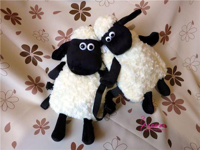 Shaun The Sheep Plush Backpack