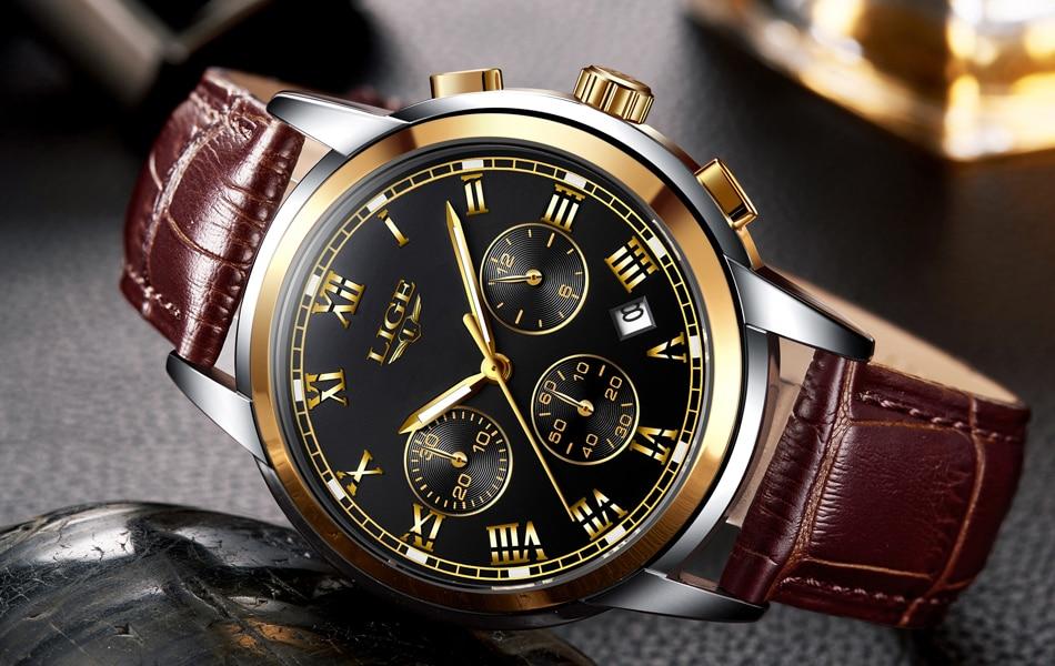 HTB1yqqke8Cw3KVjSZR0q6zcUpXaX LIGE Men Watches Top Luxury Brand Full Steel Waterproof Sport Quartz Watch Men Fashion Date Clock Chronograph Relogio Masculino