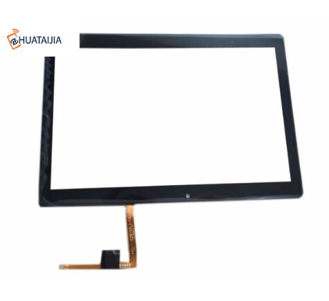 New For 10.1 inch Irbis TZ186 Tablet Capacitive touch screen panel Digitizer Glass Sensor replacement Free Shipping black new 7 inch tablet capacitive touch screen replacement for pb70pgj3613 r2 igitizer external screen sensor free shipping