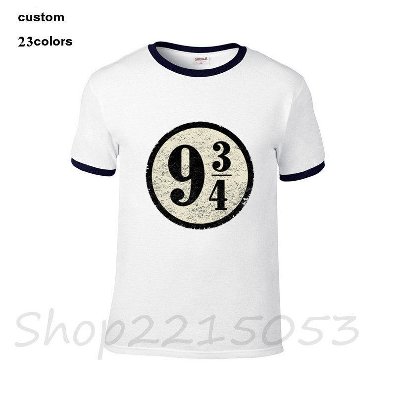 HTB1yqrBacfrK1Rjy0Fmq6xhEXXa3 - 2019 streetwear Platform nine three quarters Harryy Men funny T-Shirt black whtie clothes Potter male t shirt slipknot tshirt