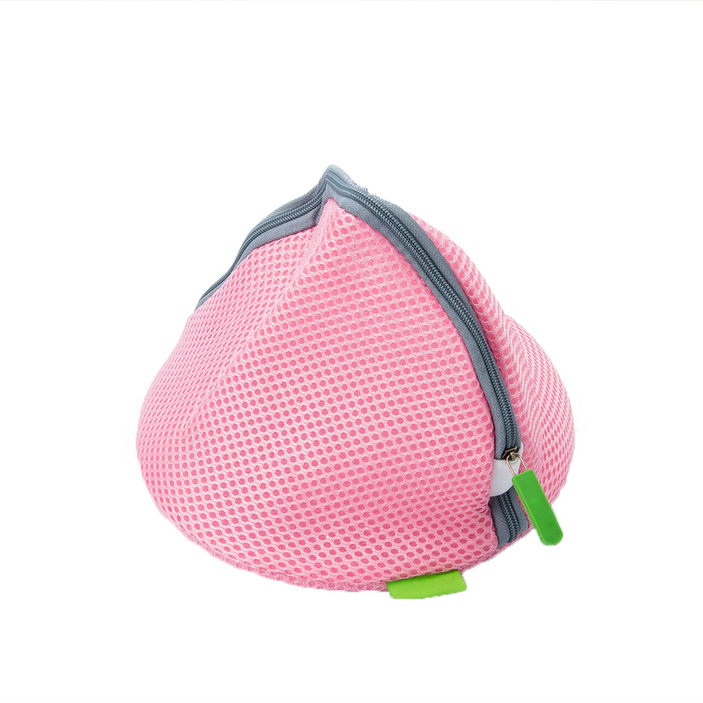 Mesh Zipper Laundry Bag Basket Household Clothes Laundry Cleaning Tools Women Bra Underwear Washing Storage Bag