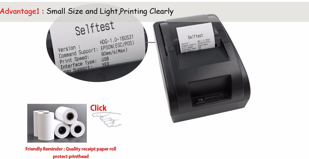 High Quality thermal receipt printer