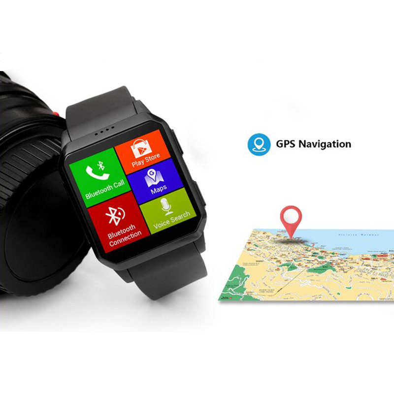 Smart Watch Men 2018 relogio inteligente Sport Bluetooth 3G Smartwatch with heart rate monitor MTK6580 smartphone elephone a1 3g smartphone
