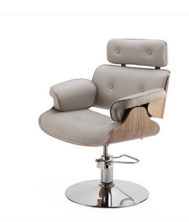 Простой волос Salon Парикмахерская волосы красоты волос стул shake-Up красный парикмахерское кресло цвета розового золота chassis.1 - Цвет: 01