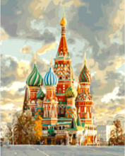 "DIY Painting By Number – Russia (16""x20"" / 40x50cm)"