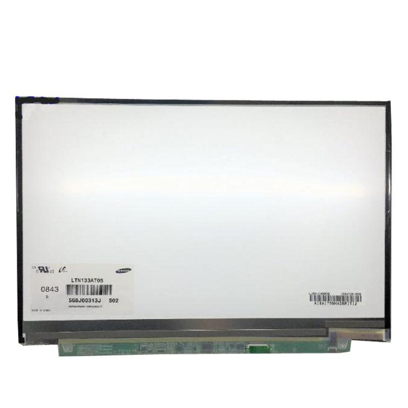 Grade A+ Laptop LCD Screen Panel LTD133EWDD N133i5-L01 LTN133AT05 For DELL XPS M1330 1340 free shipping ltd133ewdd 13 3 wxga slim laptop lcd screen replacement for xps m1330 display
