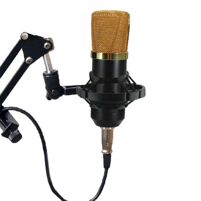 High Quality Professional BM700 Dynamic Microphone Mic Set Kit + Suspension Boom Scissor Arm Stand Kit For Studio Microphone