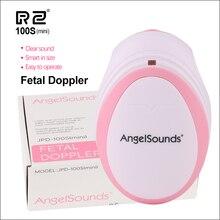 RZ мини бытовой фетальный допплер пренатальный Карманный Детский ультразвуковой детектор Ангел Звук сердцебиение беременных допплеровский монитор 100Smini