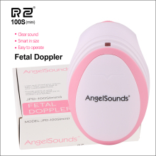 RZ Mini Household Fetal Doppler Prenatal Pocket Baby Ultrasound Detector Angel Sound Heartbeat Pregnant Doppler Monitor 100Smini