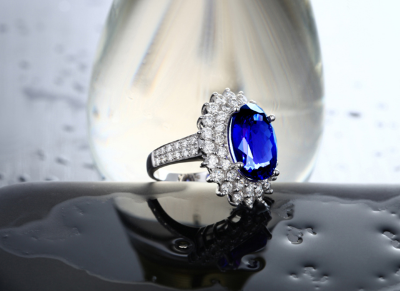 Brand new original 6 carat 925 sterling silver sapphire flower synthetic diamant ring tanzanite jewelry for women US size (CM)Brand new original 6 carat 925 sterling silver sapphire flower synthetic diamant ring tanzanite jewelry for women US size (CM)
