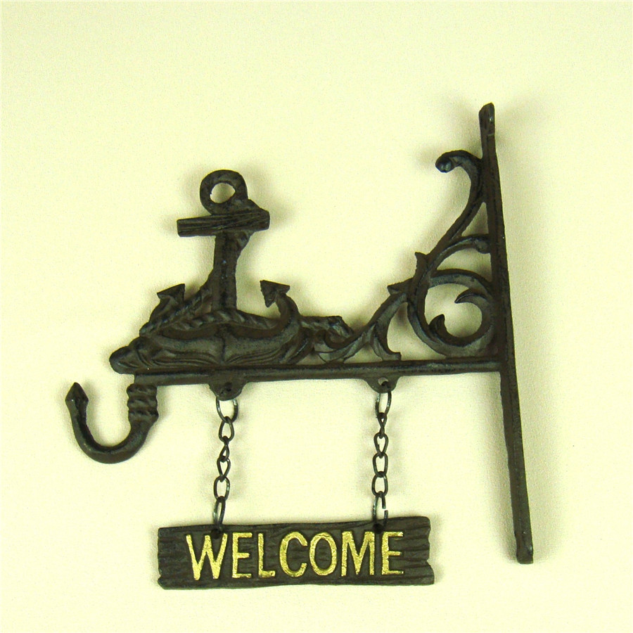 Fancy Metal Anchor Wall Decor Mold - Wall Art Collections ...