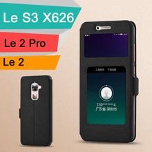 Godgift LeEco Le S3 X626 чехол Luxucy Флип PU Чехол-книжка для LeEco Le 2 Pro X527 X20 случае окна кожа LeTV LeEco Le S3 случае