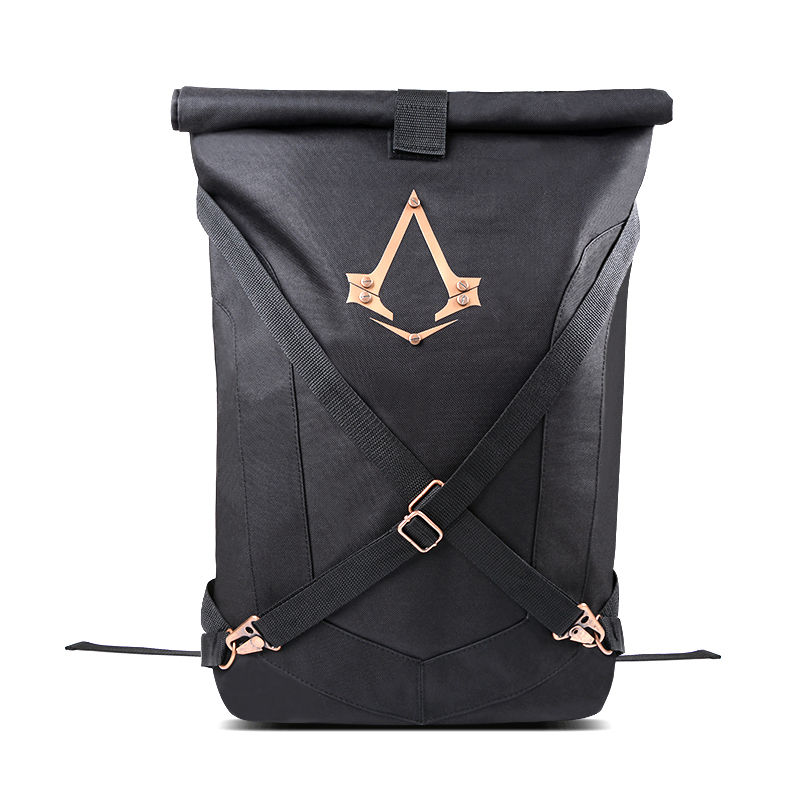ФОТО Assassin's Creed Foldable Backpack Rucksack Unisex Large Bag Casual Game Cosplay Gift