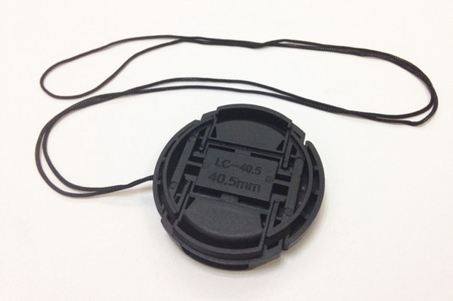 1pcs 40.5mm Lens Cap cover protector for Sony A6000 A5100 A5000 NEX-5T NEX-5R NEX-6 NEX-3N 16-50mm