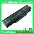 6 клетки 5200 мАч аккумулятор для ASUS F2 F2F F2Hf F2J F2Je а32-f3 A32-F2 а33-f3 F3 F3J F3F F3JA F3U A32-F3 а33