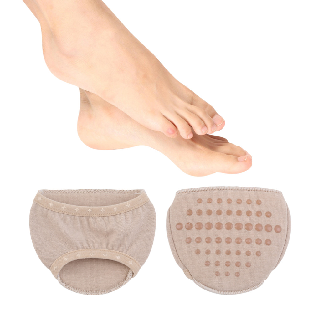 2pc New Use Foot Care High Heel Shoes Half Front Cushion Insole Shoe Pads Liner Hot Selling 2 pcs foot care insoles invisible cushion silicone gel heel liner shoe pads heel pad foot massage womens orthopedic shoes z03101