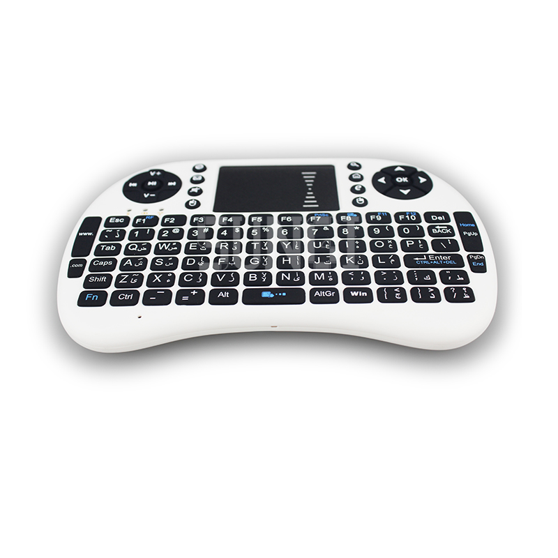 2,4G Wireless Arabisch brief Mini Tastatur Air Fly Maus Tastatur - Computer-Peripheriegeräte - Foto 5