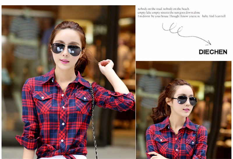 checked blouse 09