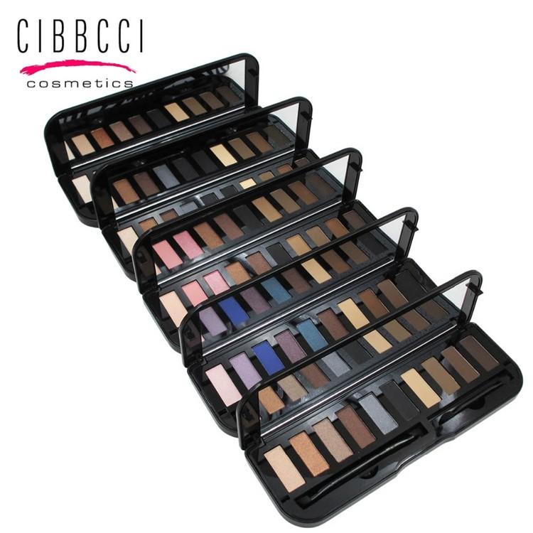 CIBBCCI-Eye-Shadow-Pallte-10colors-Makeup-Shimmer-Matte-Eyeshadow-Palette-With-Brush-1pcs