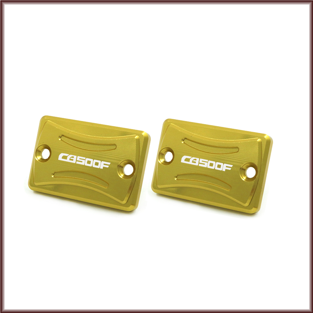 Front Rear Brake Reservoir Cover For Honda CB 500F CB500 <font><b>CB500F</b></font> 2013 - <font><b>2018</b></font> 2017 Motorcycle Master Cylinder Oil Fluid Cap image