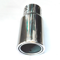 Replacement Tail Throat Accessories Universal Round Exhaust Pipe Car Muffler