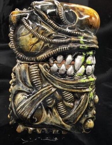 Handmade Art Collection Alien Resin Steampunk Lighter6
