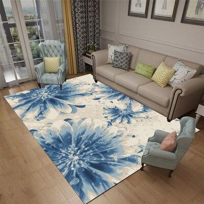 Briques créatives en bois Jacquard canapé chaise tapis de sol rayé paillasson tapis fit salon tapis fit Kitchem chambre