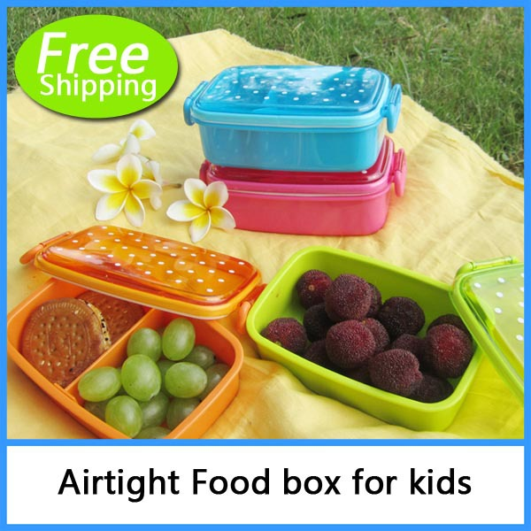 polka dot style sushi box child baby bento lunch box fruit box single tier microwave in bowls. Black Bedroom Furniture Sets. Home Design Ideas